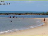 Praia de Santo André em Santa Cruz Cabrália