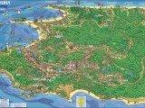 mapa Morro de São Paulo - Bahia
