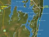 Mapa Baia de Camamu