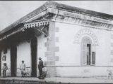 Estação de Campo Formoso, sem data. Reproduzido do livro Lampião e a Maria Fumaça, de A. A. Araújo e L .R. Bonfim