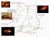 Mapa Toca e Grutas de Campo Formoso