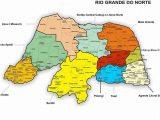 Mapa do RN por territórios