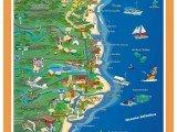 mapa da Costa das Baleias