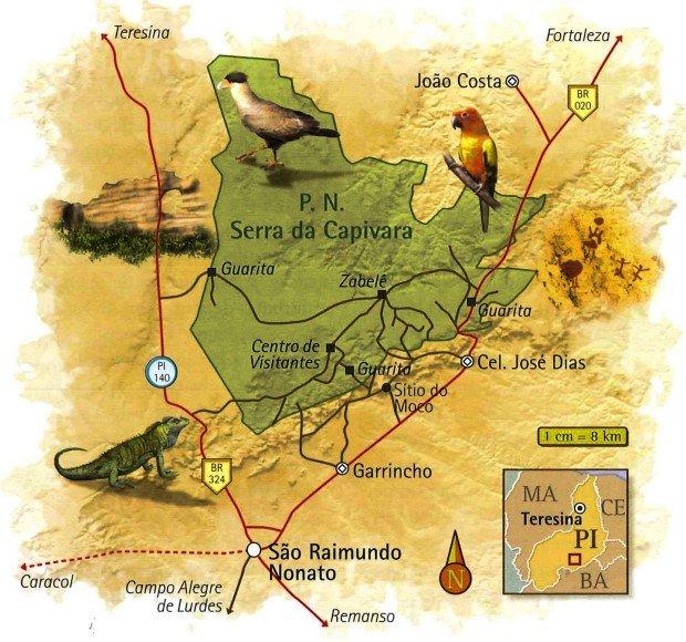 Parque Nacional da Capivara Piauí