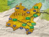 Mapa do Sérido rn