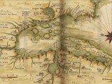 Mapa histórico da Baía de de Todos os Santos