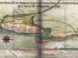 Fortificações Holandesas - Carta de Albernaz de 1640
