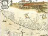 Mapa de Pernambuco incluindo Itamaracá, 1643
