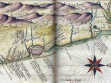 Mapa do Litoral Norte de Pernambuco e Litoral Sul da Paraíba - por João Teixeira - 1640