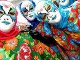Recife carnaval com mascaras