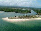 Praia do Saco em Sergipe