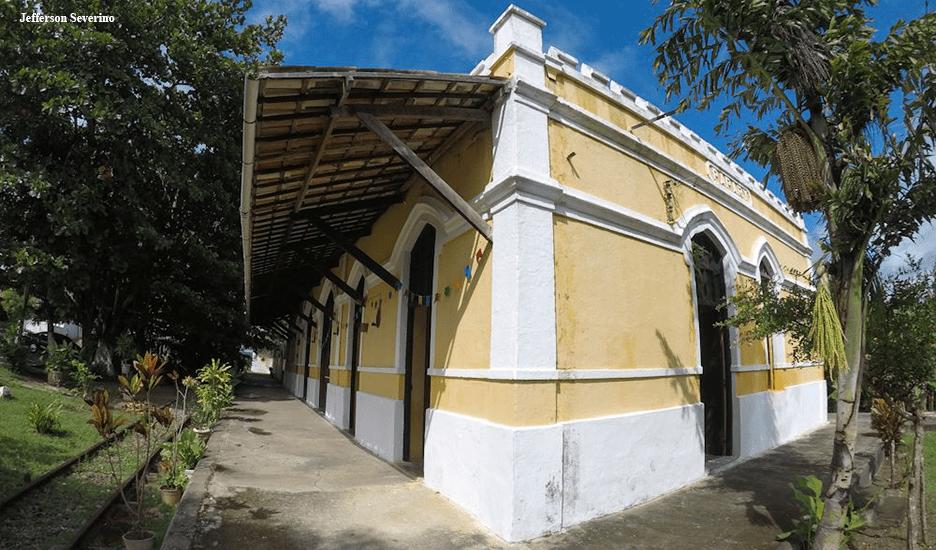 Estação Ferroviária de Papary em Nísia Floresta RN