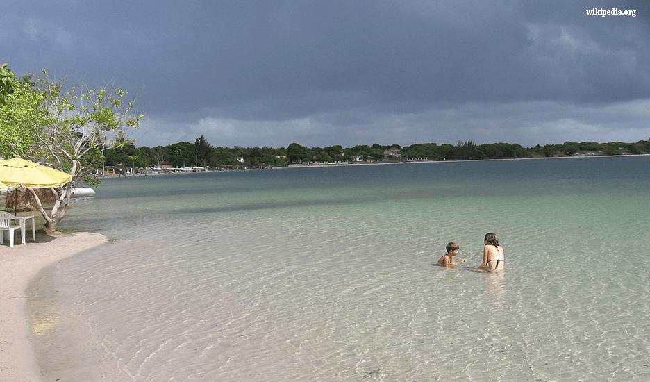 Lagoa do Carcará em Nísia Floresta RN