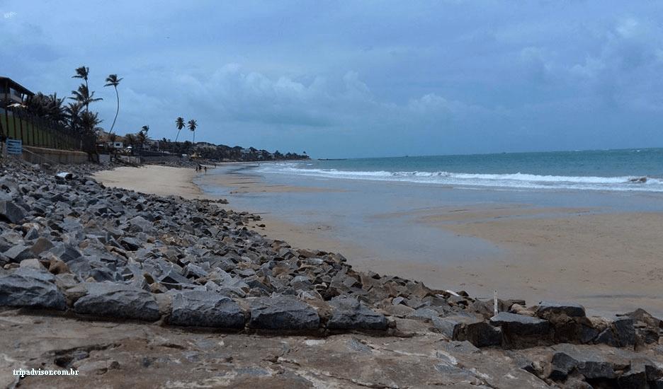 Praia de Camurupim em Nísia Floresta RN