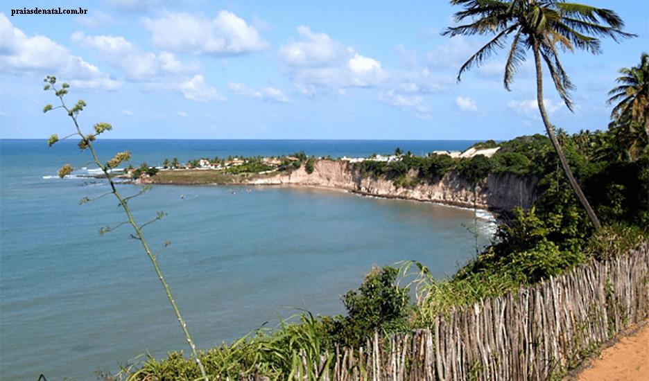 Praia de Tabatinga em Nísia Floresta RN