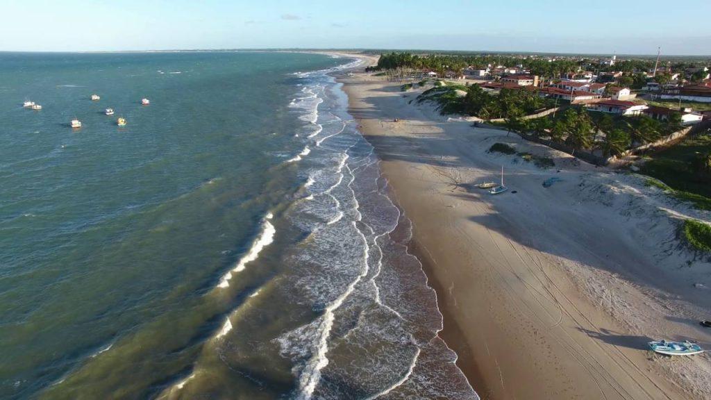 Praia do Zumbi - Rio do Fogo RN