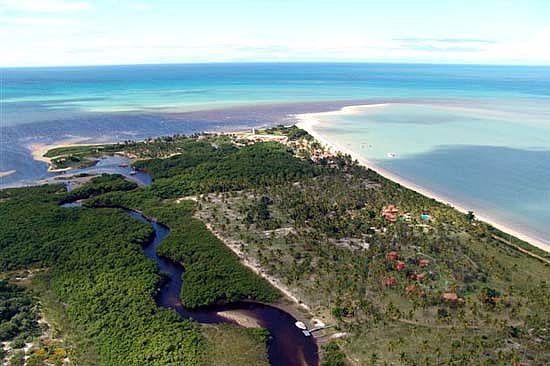 Corumbau no sul da Bahia