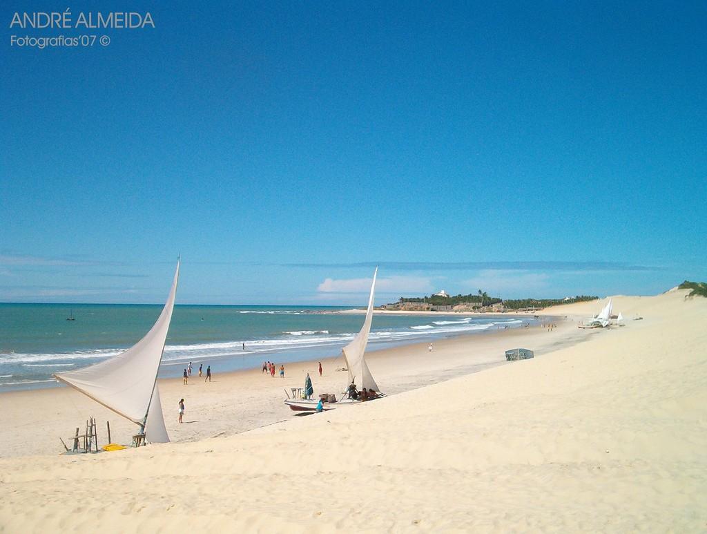 praia de Iguape em Aquiraz no Ceará