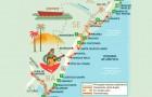 Praias do litoral de Sergipe