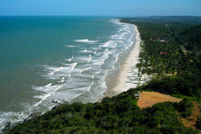 Serra Grande tem praias paradisíacas e cachoeiras escondidas