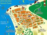 mapa de Jericoacoara