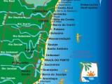 Mapa Linha Verde Bahia