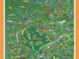 Mapa da chapada Diamantina