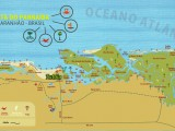 Mapa Turistico do Delta do Parnaíba