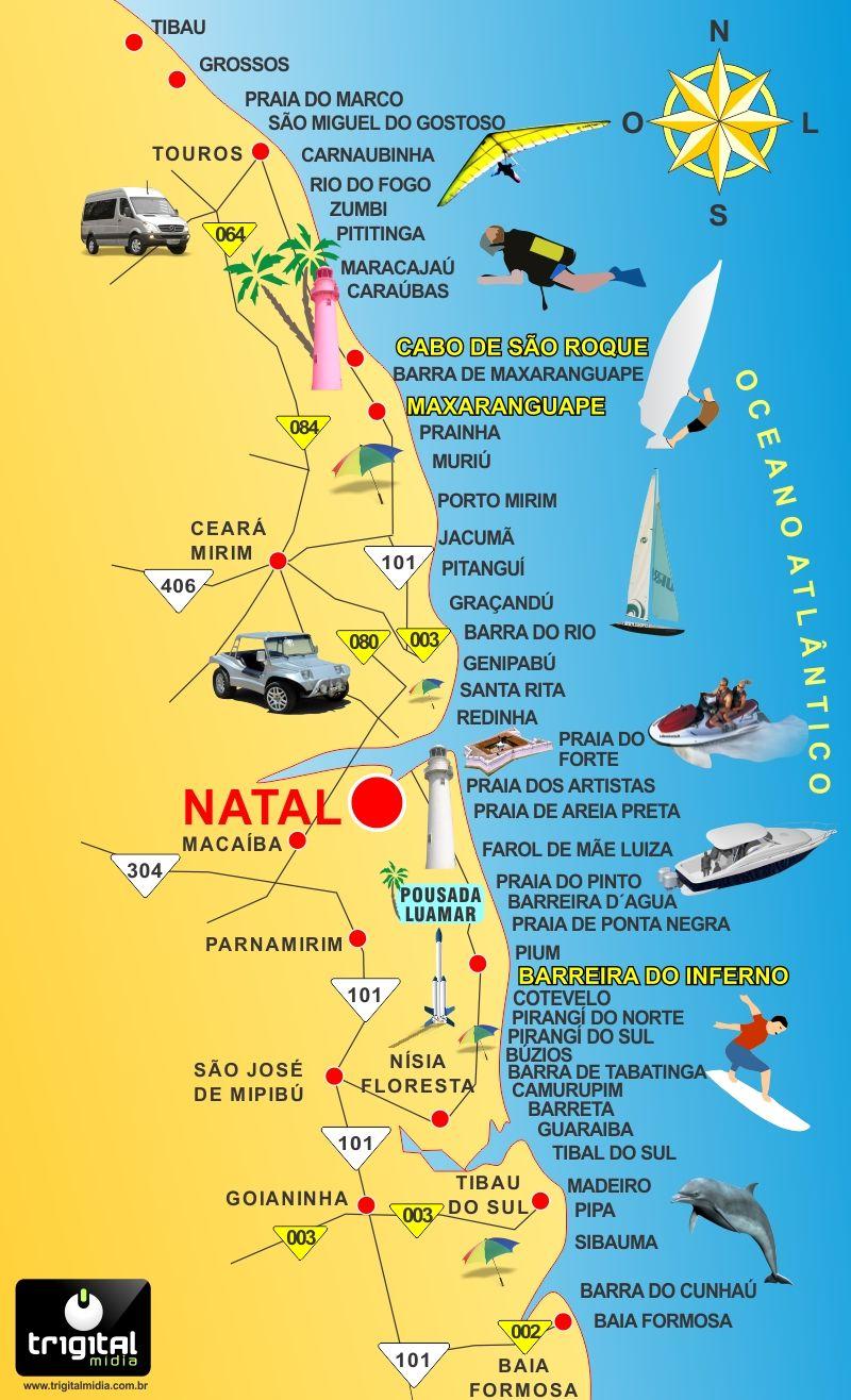 A Praia De Maracajau Tem Aguas Transparentes E Recife De Corais Video