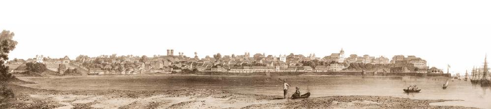 Foto antiga de São Luís do Maranhão