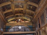 Pinturas no interior da Capela Dourada
