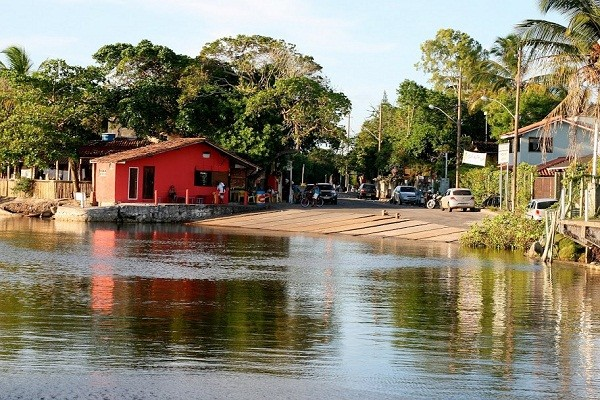 A vila de Santo André é garantia de sossego e rusticidade o ano inteiro