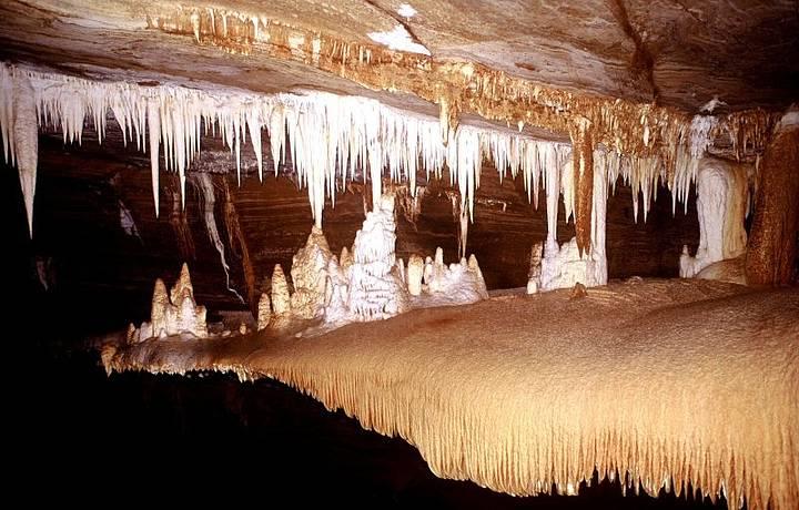 Caverna Torrinha em Iraquara na Chapada Diamantina