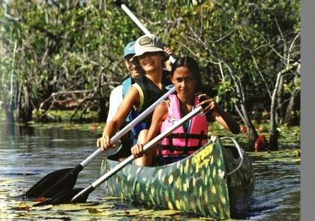 Ecoturismo na Lagoa e Ilha Timeantube na Praia do Forte
