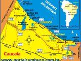 mapa de Cumbuco