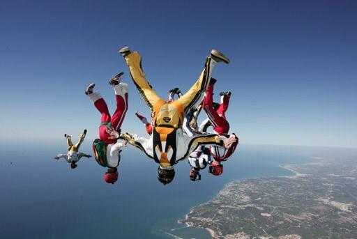Paraquedismo na Bahia