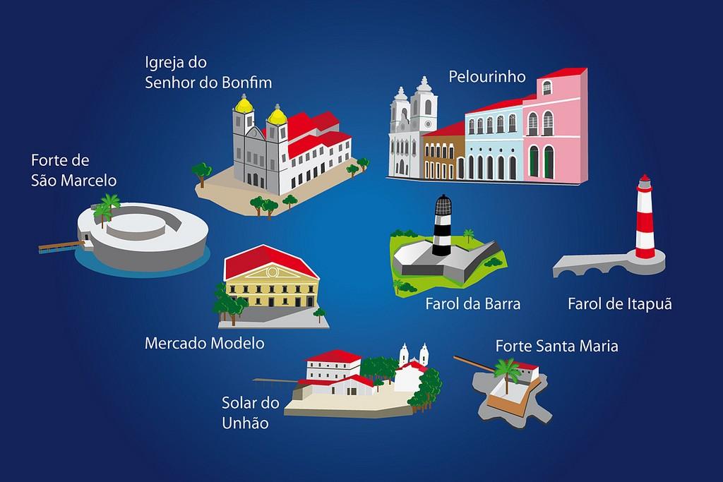 Principais pontos turísticos de Salvador da Bahia