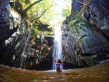 Cachoeira da Caverna no Complexo da Pedra Caída