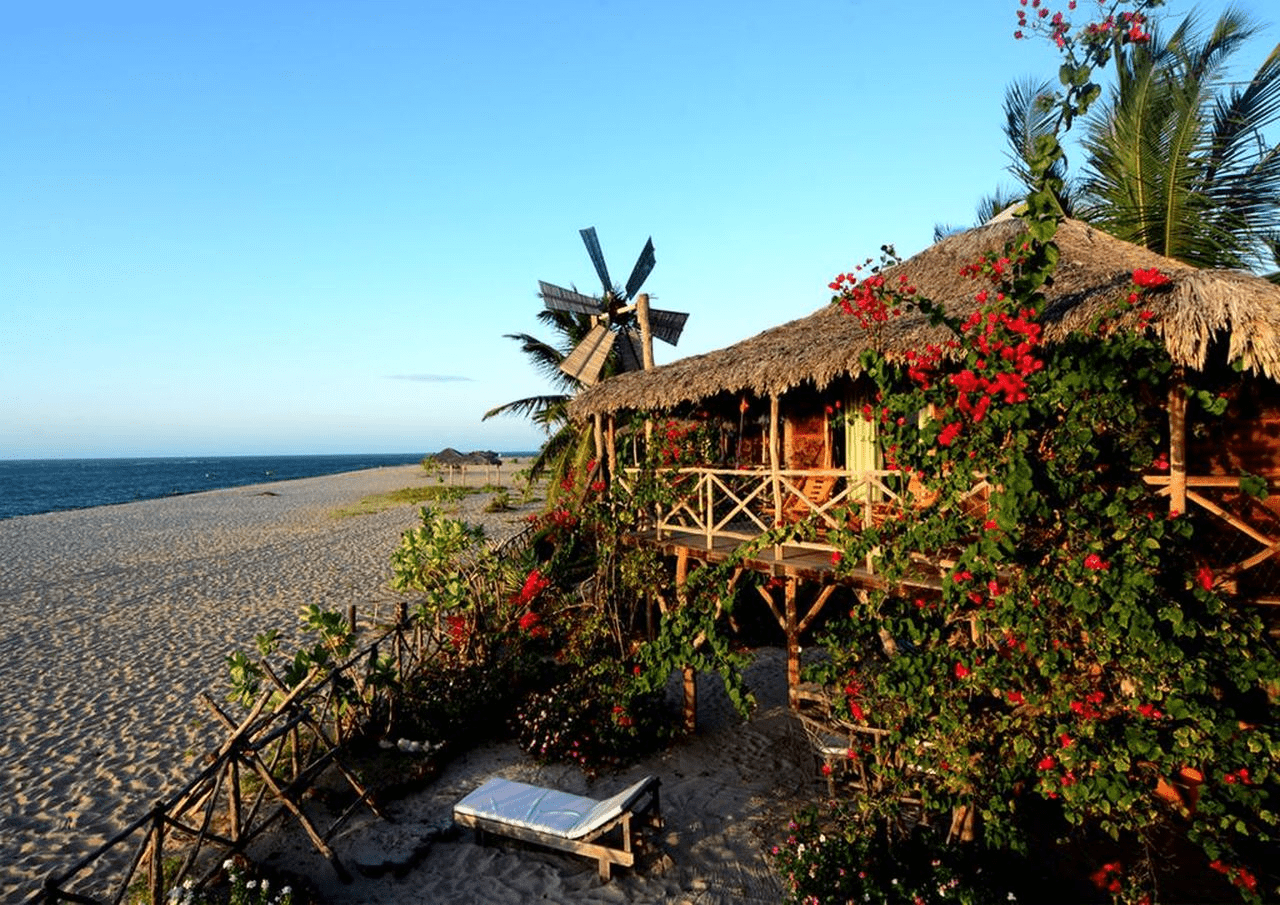 Praia de Barra Grande no Piauí