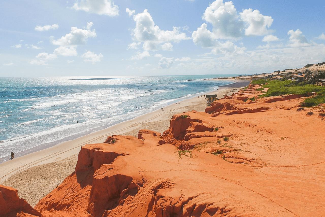 Canoa Quebrada no Ceará