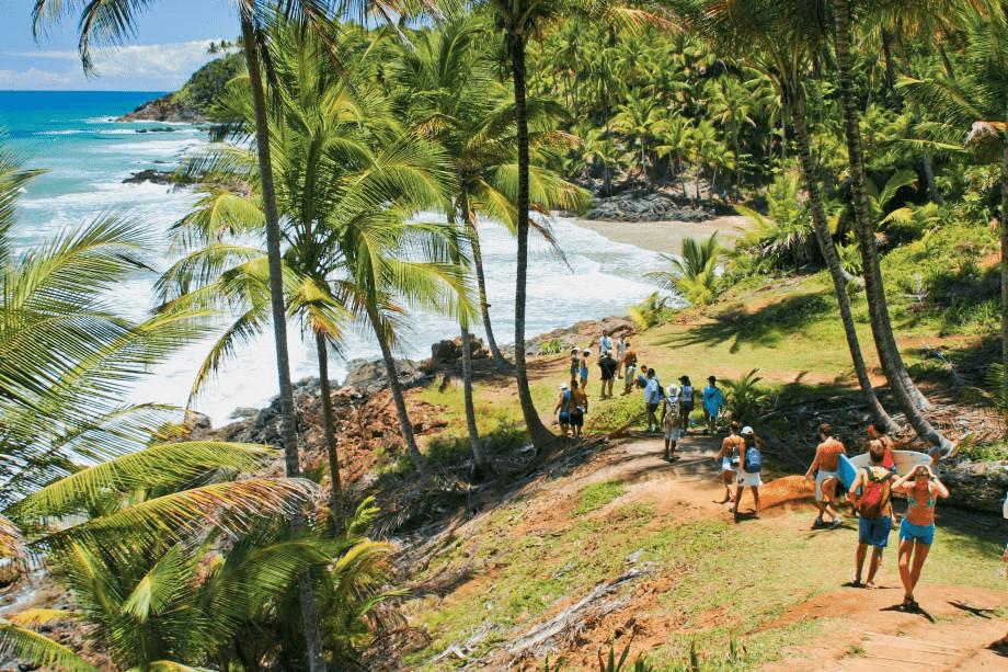 Praia de Havaizinho na Bahia