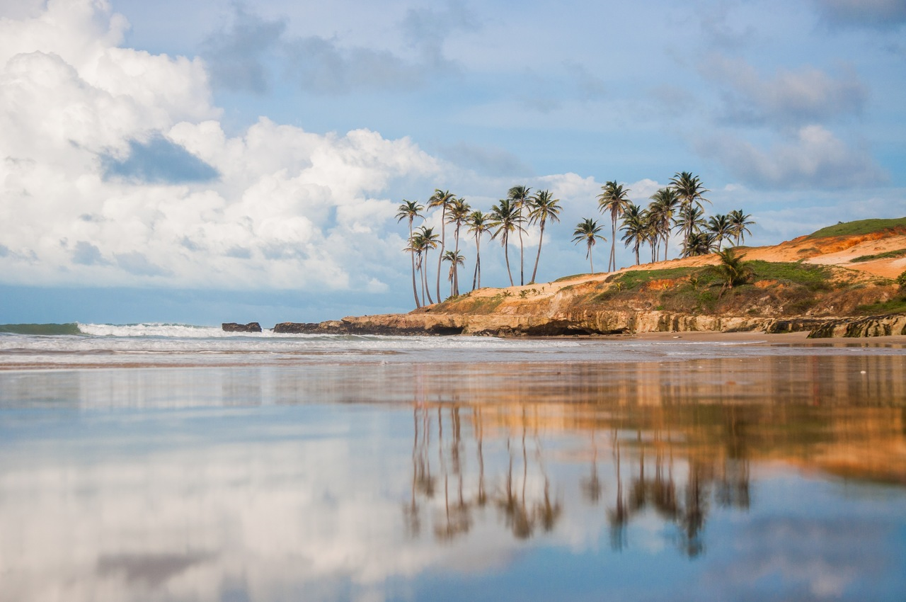 Praia de Lagoinha no Ceará