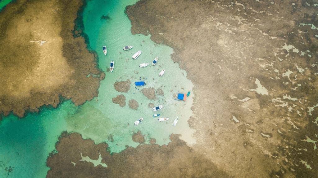 Praia de Moreré em Boipeba – BA
