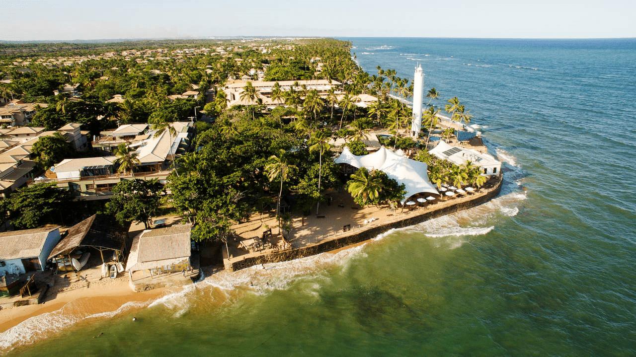 Praia do Forte na Mata de São João - BA