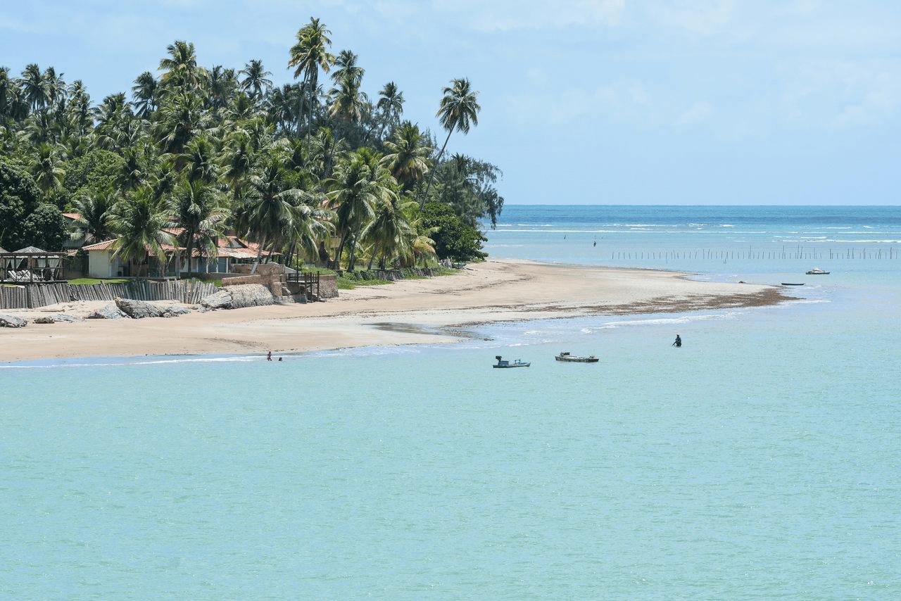 Praia do Toque em São Miguel dos Milagres - AL