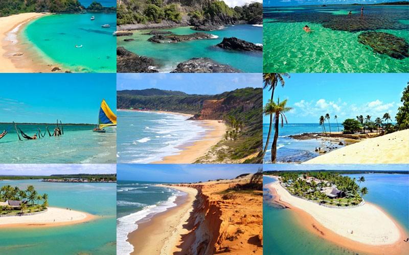 Melhores Praias do Nordeste - Guia de Turismo - vídeos