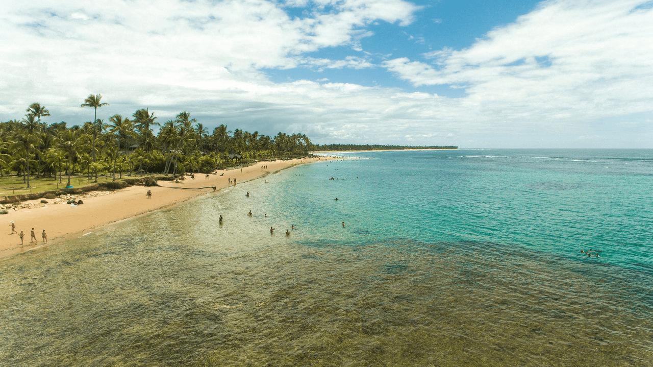Taipu de Fora na Península de Maraú - BA
